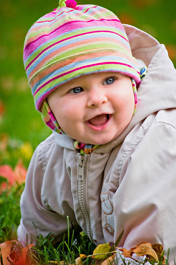 Cute Baby Girls Cute Baby Girl Having Blue Eyes 361