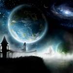 Space wallpaper digital art