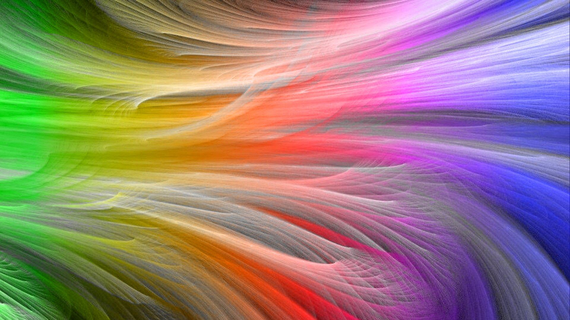 Rainbow Wallpapers, Digital Rainbow, #83