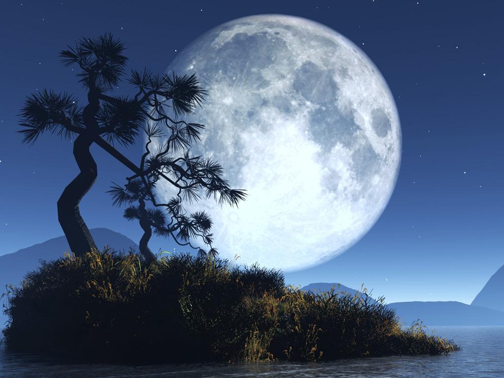 Full Moon 1024x768