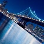Bridge Night background
