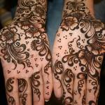 beautiful pakistani mehndi design for hands