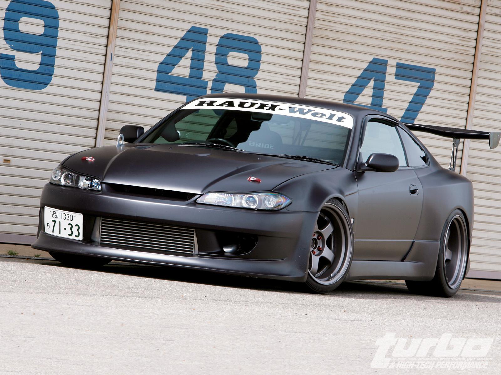 Nissan Silvia Blue Nissan Silvia Picture 2970