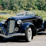black classic car picture