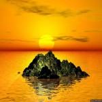 sunset pc wallpaper
