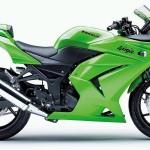 green kawasaki bikes picture