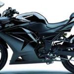 black kawasaki bikes picture