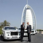 New Rolls Royce handover at Burj Al Arab