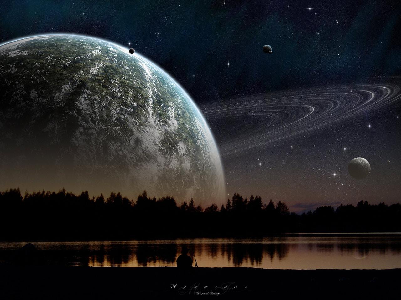 Hd wallpaper night - Natural Night Wallpaper