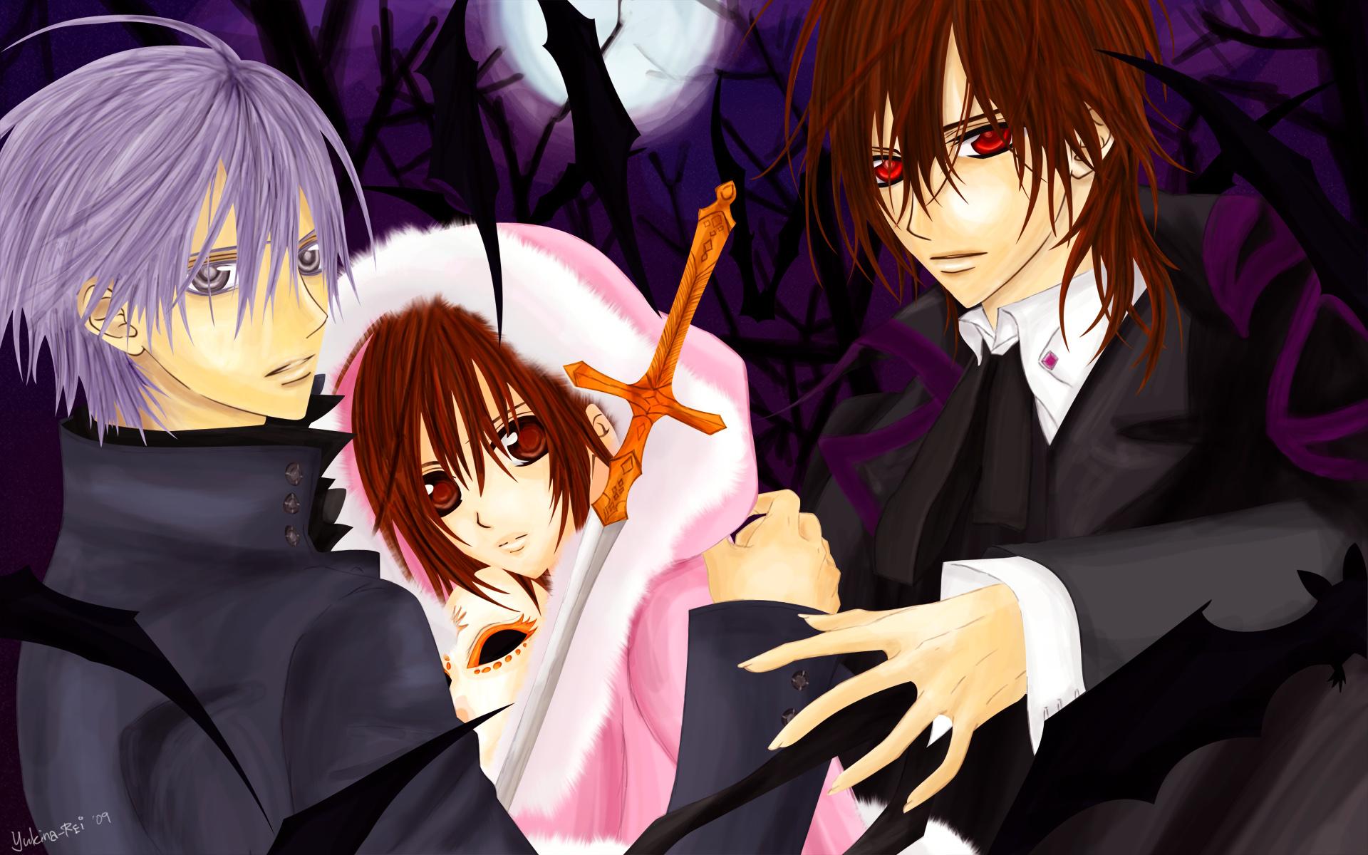 Vampire Knight Zero And Yuki And Kaname HD Anime Wallpapers | ...