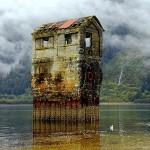 natural strange house