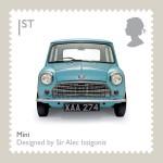 blue car british picture