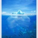 nice iceberg picture