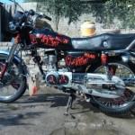 sudanese honda bikes picture