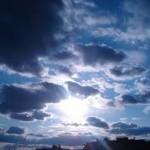 shining clouds wallpaper