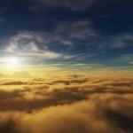 sunset clouds wallpaper