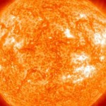 orange sun picture