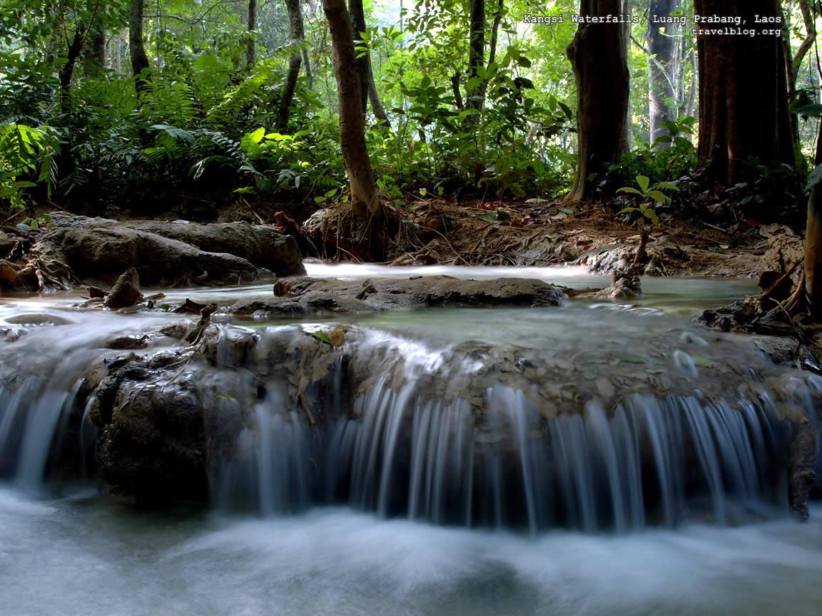 3d Nature Wallpaper top waterfall d nature