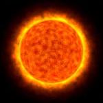 3d sun picture