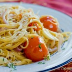 whole wheat thin spaghetti picture