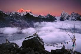 fantastic mountain wallpaper
