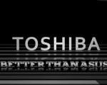 white and black toshiba wallpapre