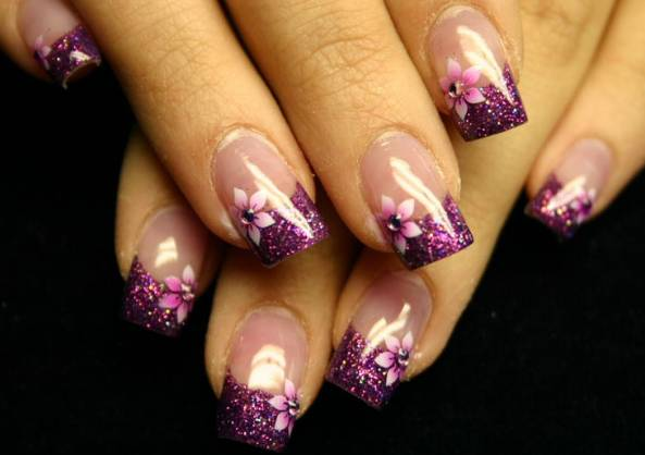 top nail style wallpaper