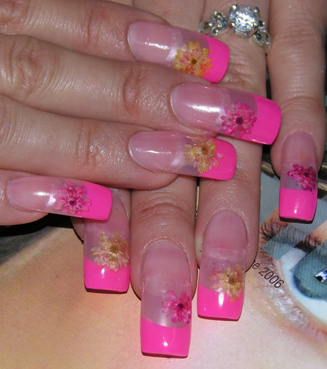 cute nail style wallpaper