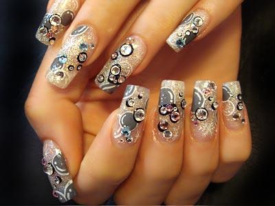 art nail style wallpaper