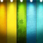 colored apple desktop wallpaper