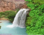 waterfall animated computer wallpaper