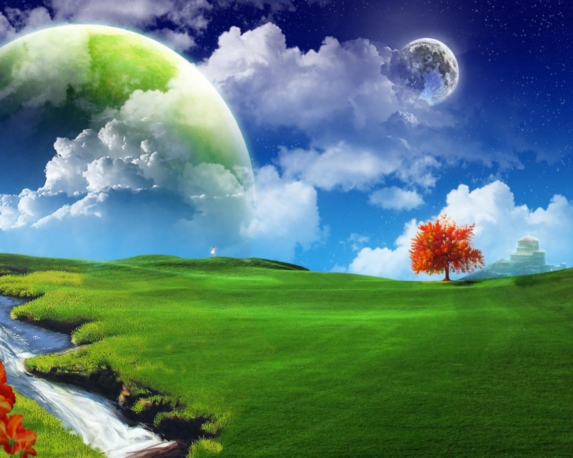 nature fantasy wallpaper for desktop