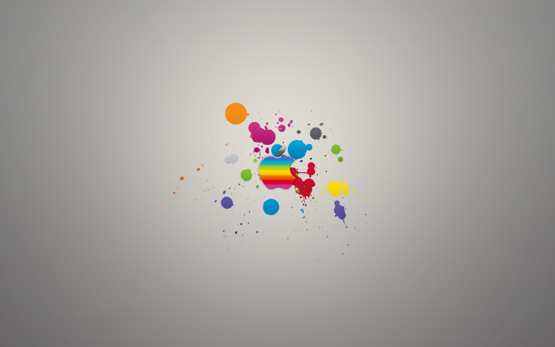 how to clean an apple desktop screen