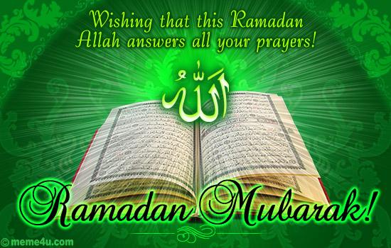 great ramadan mubarak