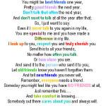 colored best friend poem