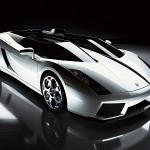 silver lamborghini cars