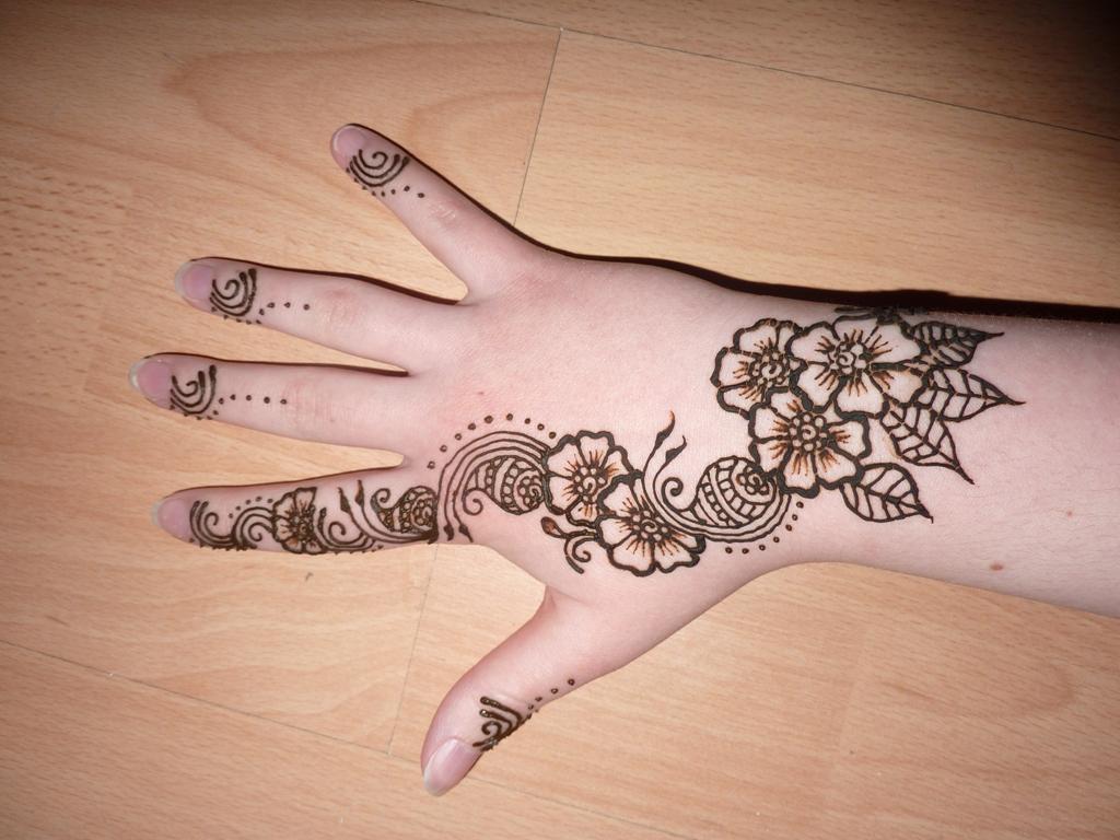 Henna Tattoo Drawings: Henna Designs, Super Heena Design, #10457
