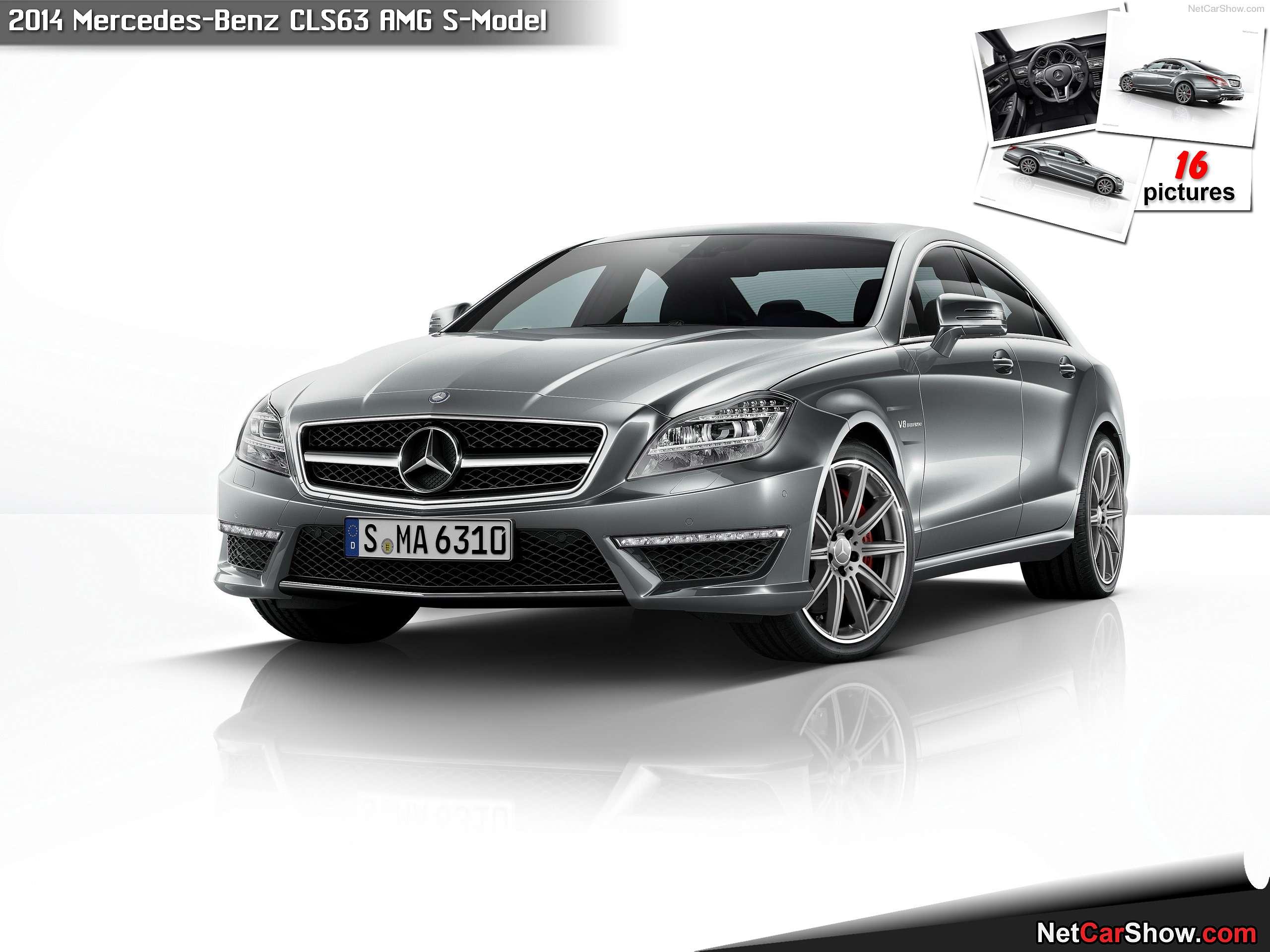 Mercedes Benz CLS63  Model 2014