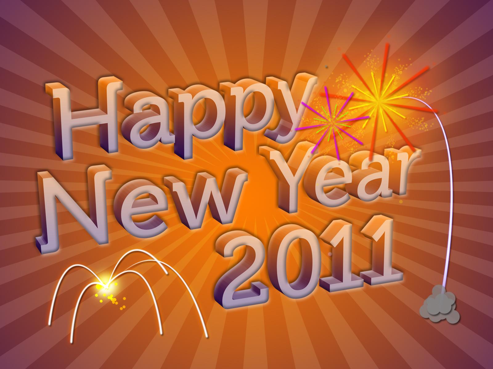 orange free new year wallpapers