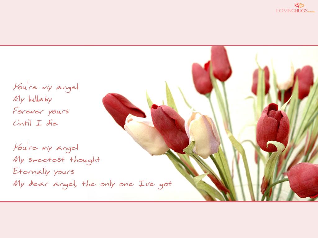 beautiful flower love messages