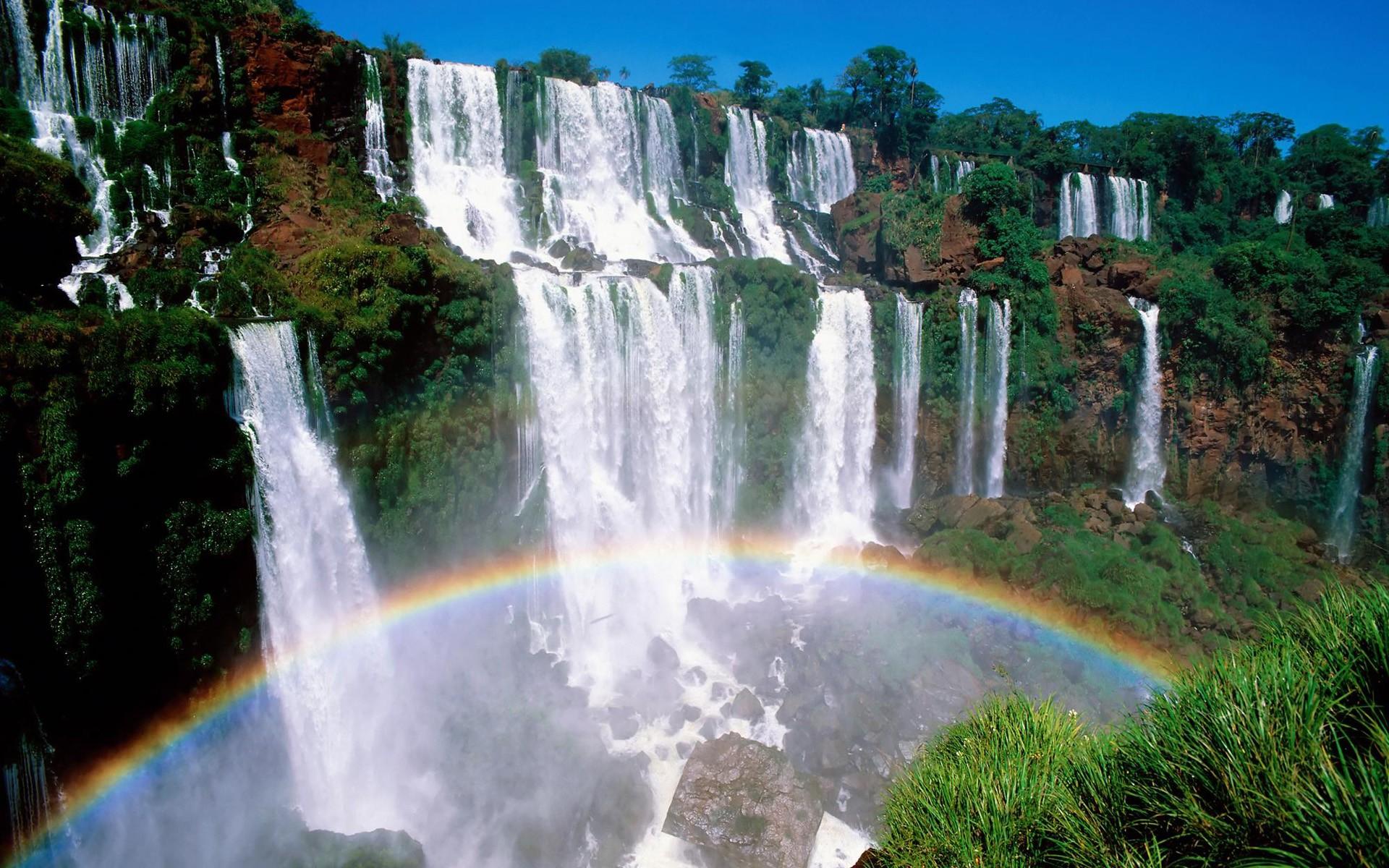 beautiful waterfall image