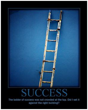 blue background motivational saying