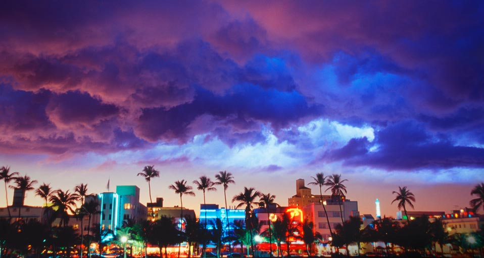 high resolution miami beach image