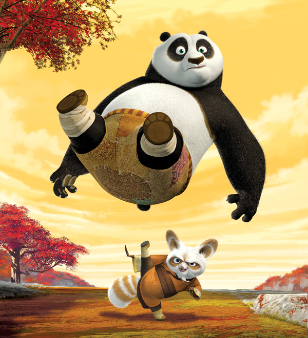 Kung Fu Panda movie image