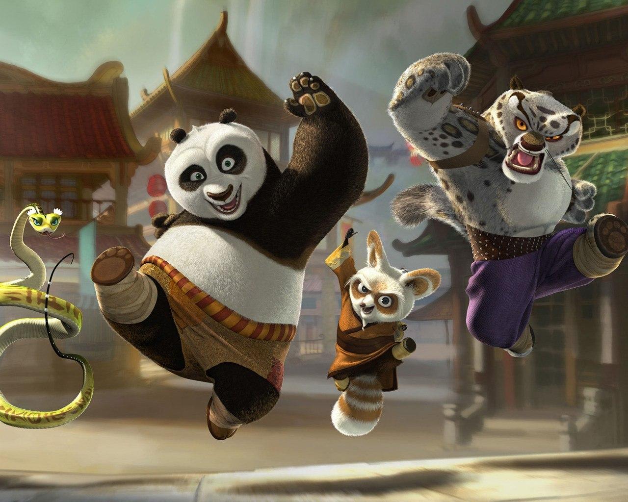 fractal kung fu panda picture
