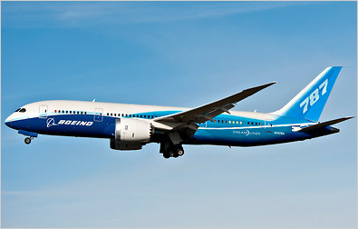fantasy boeing 787 plane image