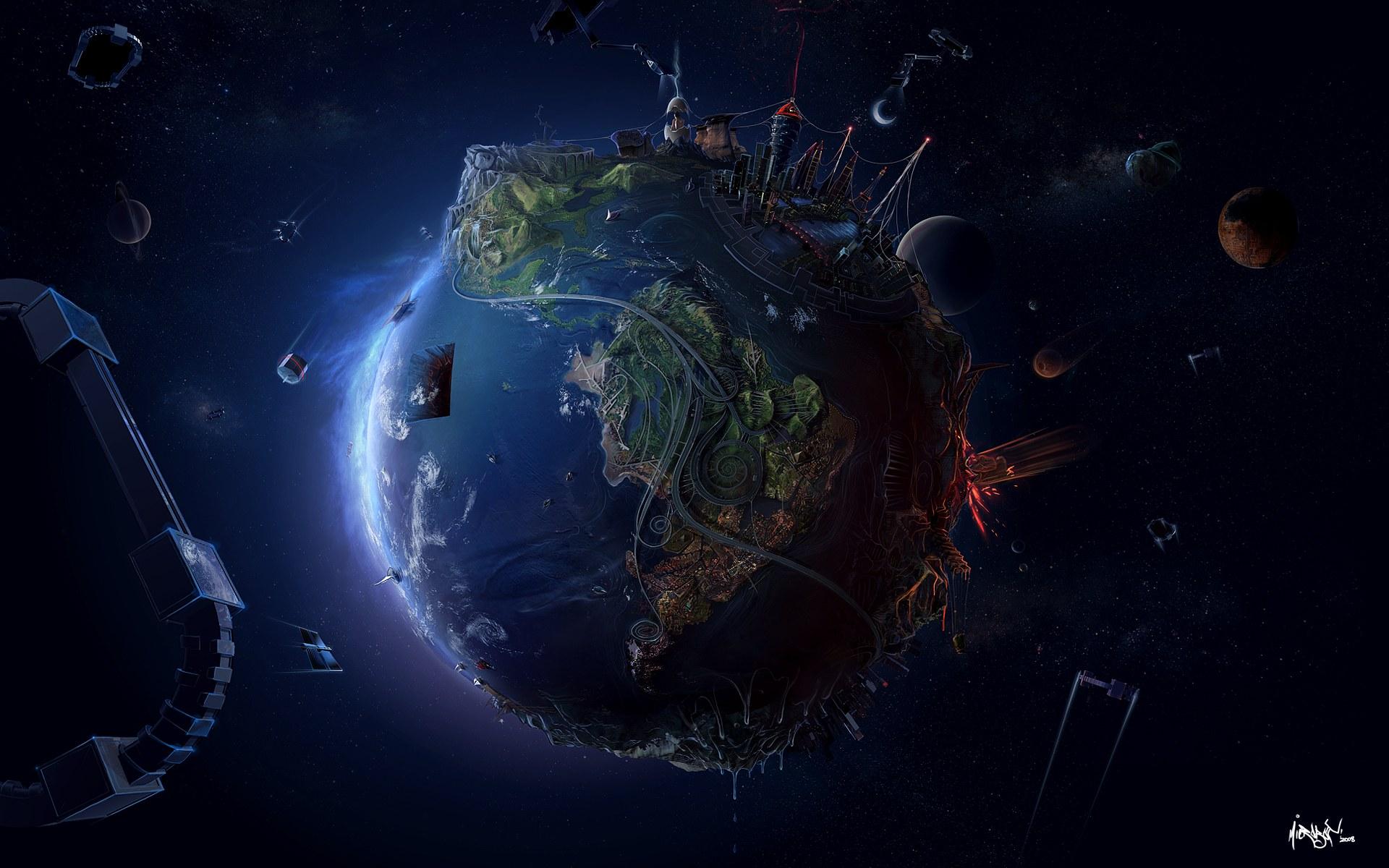world fantasy landscape image