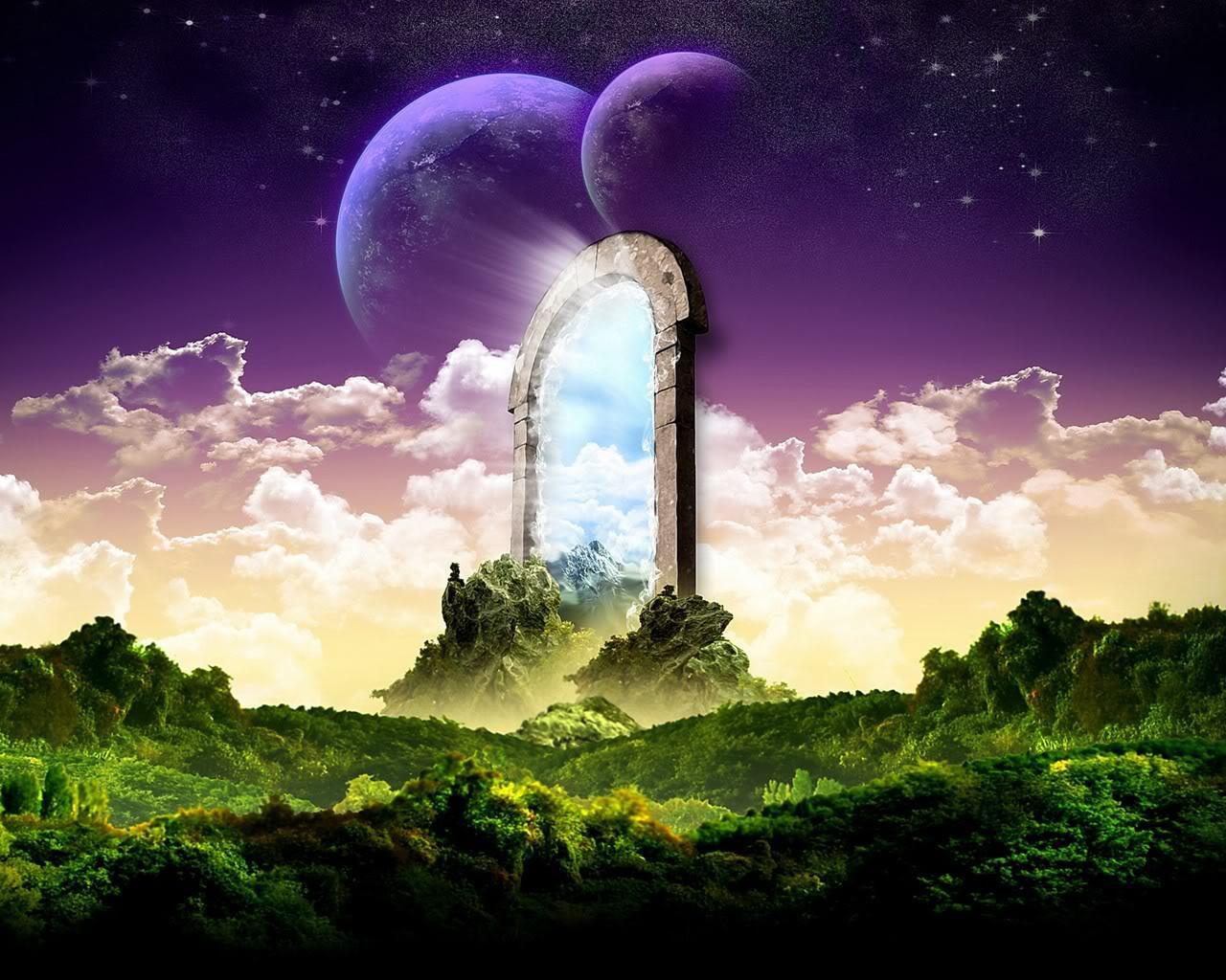 super fantasy landscape image