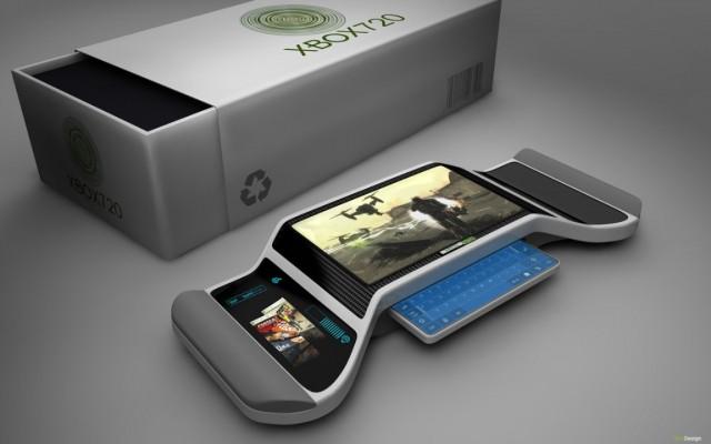 silver xbox 720 image