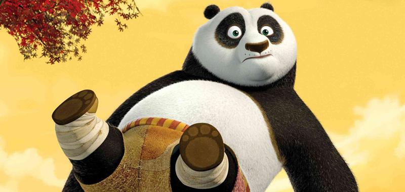 Kung Fu White Panda